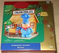 Schoolhouse Rock Conjunction Junction Christmas Ornament (Musical) 2005 Carlton