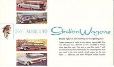 1961 Mercury Colony Park & Commuter Series Station Wagon Brochure