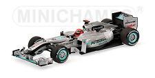 Mercedes GP F1 MGP W01 M.Schumacher 2010 410100003 1/43 Minichamps