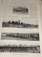 1899 Boer Guerra KIMBERLEY'S Gunners Diamante Fields Caballo