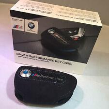 BMW M Rendimiento M Cubierta Estuche de alimentación Alcantara clave Genuino X5 X6 Teclas Fob