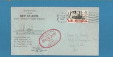 US 1962 1st Mississippi River Steamer New Orleans Steam-Boat Cover