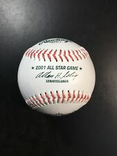 Rico Carty Julio Cruz  AUTOGRAPHED 2001 Seattle All-star Game Baseball. Hologram