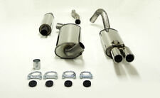 Audi 80 (B3) 89 1.6/1.8/1.9/2.0 09/86-91 Stainless Jetex Half System 45-H1R