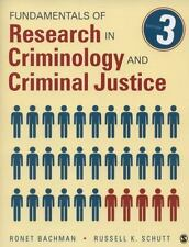 Fundamentals of Research in Criminology and Criminal Justice by Ronet D. Bachman