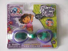 Nickelodeon Dora the Explorer Swim Goggles Purple/Green  for Beach or Pool Swim