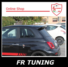 SPOILER FIAT 500 ABARTH ALETTONE POSTERIORE DA TETTO REPLICA ORIGINALE