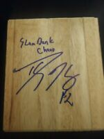 DWIGHT HOWARD SIGNED NBA FLOORBOARD SLAM DUNK CHAMP MAGIC W/COA+PROOF WOW