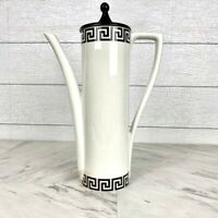 Vintage 1960's Portmeirion Coffee Pot in Greek Key