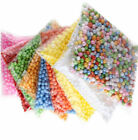 Lots Assorted Colors Crafts Polystyrene Styrofoam Filler Foam Mini Beads Balls K