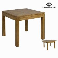 Mesas comedores de madera para el hogar, 60cm-80cm