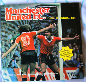 Manchester United Official Annual 1981