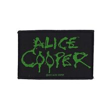 ALICE COOPER - LOGO PATCH - Official Sew On Patch - NEW - METAL
