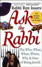 Ask the Rabbi: The Who, What, When, Where, Why, & How of Being Jewish-ExLibrary