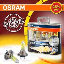 H7 OSRAM FOG BREAKER 2600K GELB Yellow Look Scheinwerfer Lampe (x2) 62210FBR-HCB
