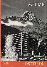 Merian, 11 - XV (November 1962): Osttirol