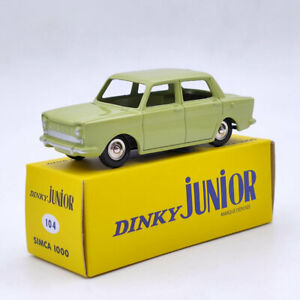 Atlas 1:43 DINKY TOYS Junior 104 SIMCA 1000 Diecast Models Collection