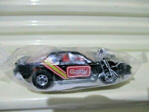 Mattel Hot Wheels 1990 GETTY GAS PROMO BLACK 1974 BLOWN CAMARO Car Nu in Polybag