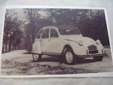 1968 CITROEN  2CV  11 X 17  PHOTO  PICTURE