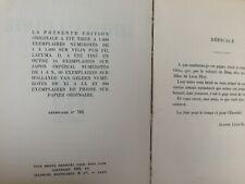 Léon Bloy Lettres à sa Fiancée (édition originale numérotée )/ STOCK 1922