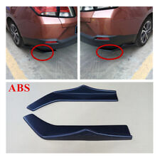 Rear Bumper Spoiler Canards Diffuser Scratch Resistant Protect Universal 2 X