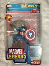 NEW MARVEL LEGENDS SERIES VIII 8 ULTIMATE CAPTAIN AMERICA 2004 ACTION FIGURE a39