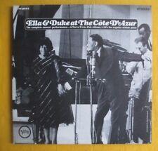 Ella Fitzgerald & Duke Ellington 2Lp - At The Cote D'Azur, exc