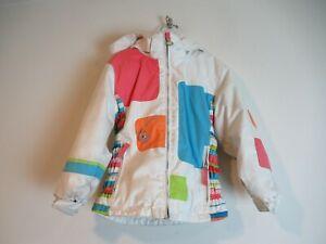 Obermeyer Hooded Jacket I-GROW Ski Snow ❤️Girls Size 5