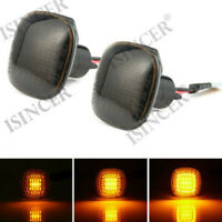 2X 96-99 for AUDI A4/S4 B5 & 97-99 A8 D2 LED SIDE MARKER LIGHTS - CRYSTAL SMOKE