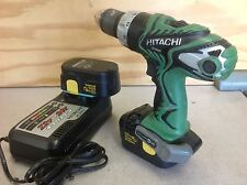 Hitachi DS18DMR Cordless 1/2 Inch Drill With 2- Batteries + Charger