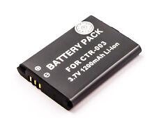 Batterie pour Nintendo 3DS Accu CTR-001/CTR-003/C / CTR-A-AB / MIN-CTR-001
