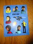 1990 Hallmark Star Trek Stickers. 4 Sheet Pack  (Loose)