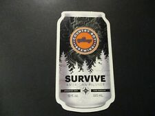 COUNTRY BOY BREWING Cougar Bait Shotgun survive STICKER decal craft beer brewery
