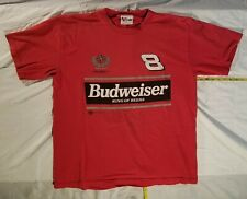 Dale Earnhardt Jr.  8   Budweiser  shirt.   DEI  Dale Earnhardt  Jeff Gordon