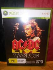 AC/DC Live Rockband - Microsoft Xbox 360 - Includes Manual
