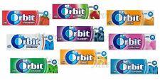 ORIGINAL WRIGLEY'S ORBIT CHEWING GUM 10 & 30 (FULL BOX) PACKETS FRESH STOCK NEW