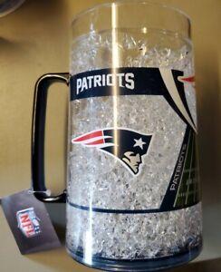 New England Patriots DUCK HOUSE SPORTS 38-OZ CRYSTAL FREEZER MONSTER MUG