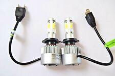 PEUGEOT 407 2004+ 2x H7 Kit Car LED Headlight Bulbs PURE WHITE 6500K