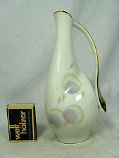 Formschöne 50er Jahre Design Schwarzenhammer Porzellan Vase 371  Dekor 52
