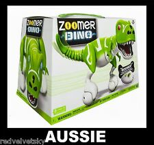 ZOOMER DINO BOOMER GREEN Interactive Robot DINOSAUR Spin Master ~ NEW IN BOX