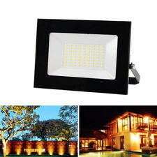 Ultra-thin LED Flood Light Waterproof Spotlight Outdoor Reflector Lighting