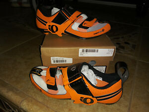 NEW $350 Mens Pearl Izumi Tri Fly Octane Cycling Shoes, size 38.0