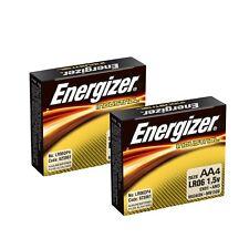 Energizer EN91 Industrial AA 4 Pack  X 2 (8 batteries) NEW