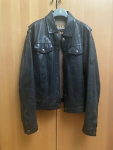 Belstaff Black Prince L Black / very nice leather jacket