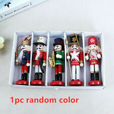 New Year Decor Soldier Decoration Wooden Christmas Soldiers Nutcracker Xmas Doll