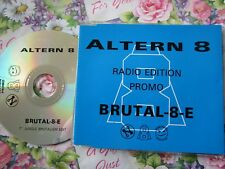 Altern 8 – Brutal-8-E Label: Network Records – RNWKCD59/2 Promo CD Single