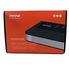 MPOW BH262A Bluetooth 5.0 Wireless Receiver Transmitter & Bypass 3 In 1 for TV