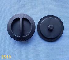 (2510) 2x GPL COPERCHIO coperchio serbatoio gas GPL TAPPO IT NERO gasdeckel