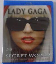 Sealed Blu-Ray Disc Lady Gaga Secret World Entertainment Unauthorized Biography