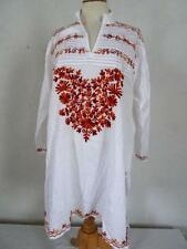 Cotton Blend Tunic/Kaftan Vintage Tops & Shirts for Women